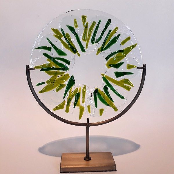 Fused Glass Circle