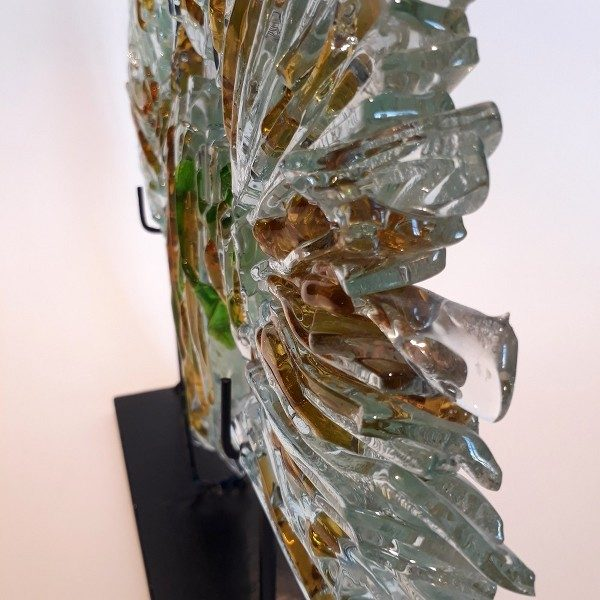 Glass fused decor