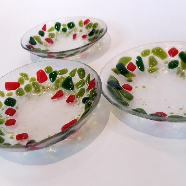 Fused Glass Plate Set