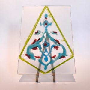 Anatolian Design Glass Panel