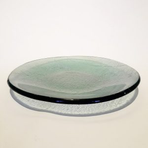 Glass fused Plate