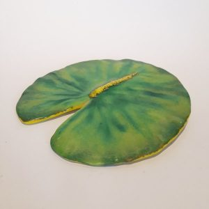 Casting Glass Lotus Leaf