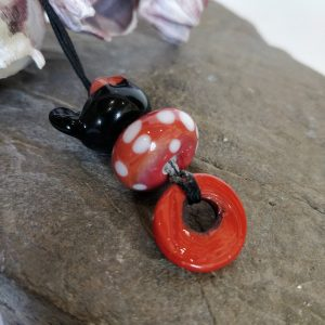 Handmade Lampwork Glass Necklace