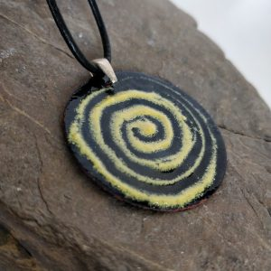Handmade Enamel Necklace