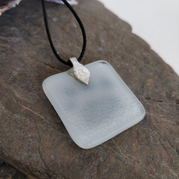 Handmade Fused Glass Necklace