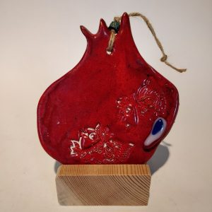 Handmade Ceramic Pomegranate