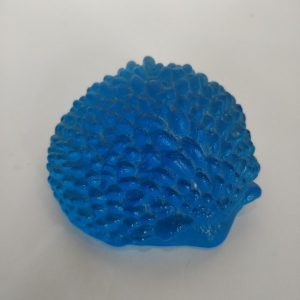 Handmade Kiln Casting Glass Hedgehog
