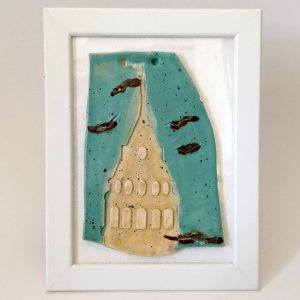 Handmade Ceramic with frame