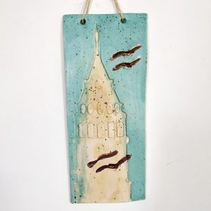 Hand made Ceramic design of Galata Tower