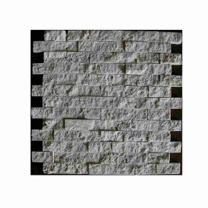 2,3x4,8 Split face travertine chiaro classic travertine mosaic