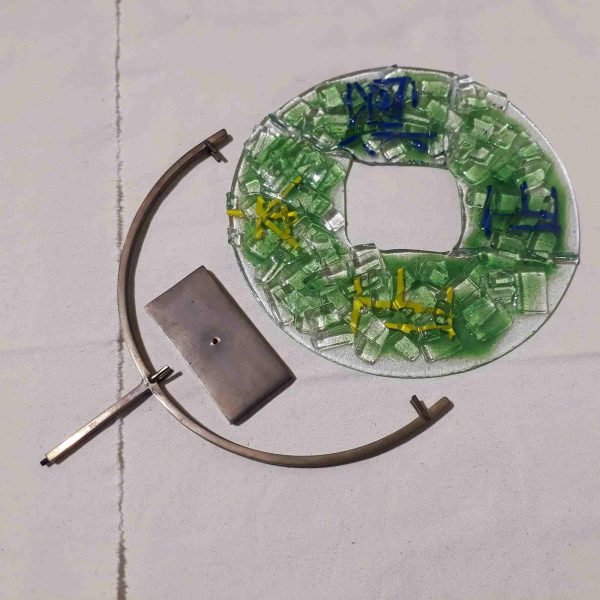 Colored Glass Energy circle